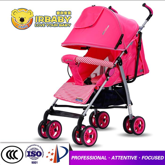 China baby stroller factory / free kids stroller with big wheels / CCC approved luxury baby pram