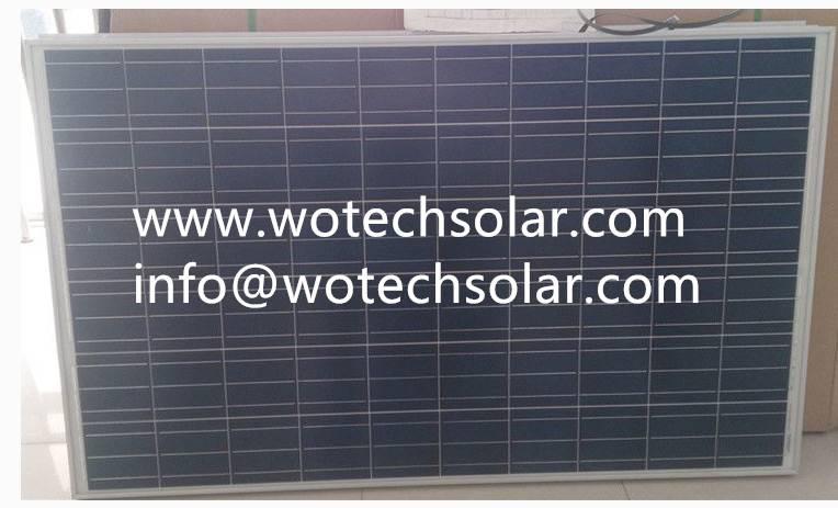 Poly 260w wotech solar module
