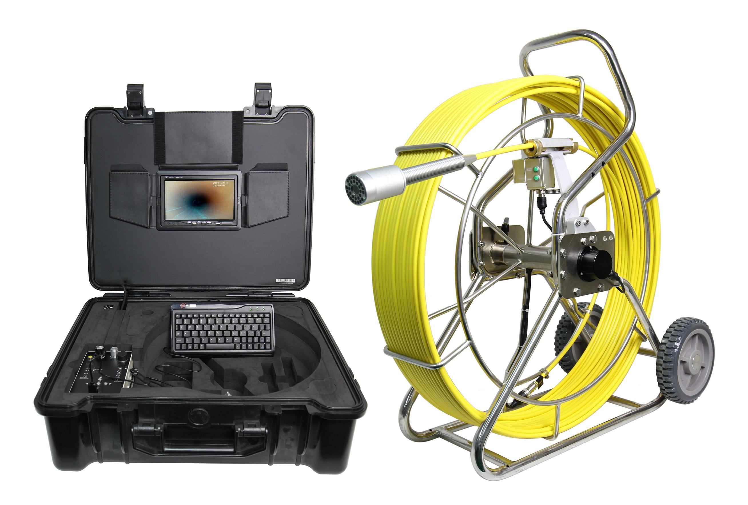 WOPSON 50MM self balance sewer pipe inspection camera