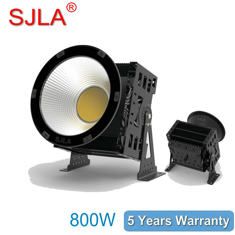 800W Outdoor Led Floodlight IP65 High Bay Light Warehouse Marketplace Workshop lamp 5Years Warranty