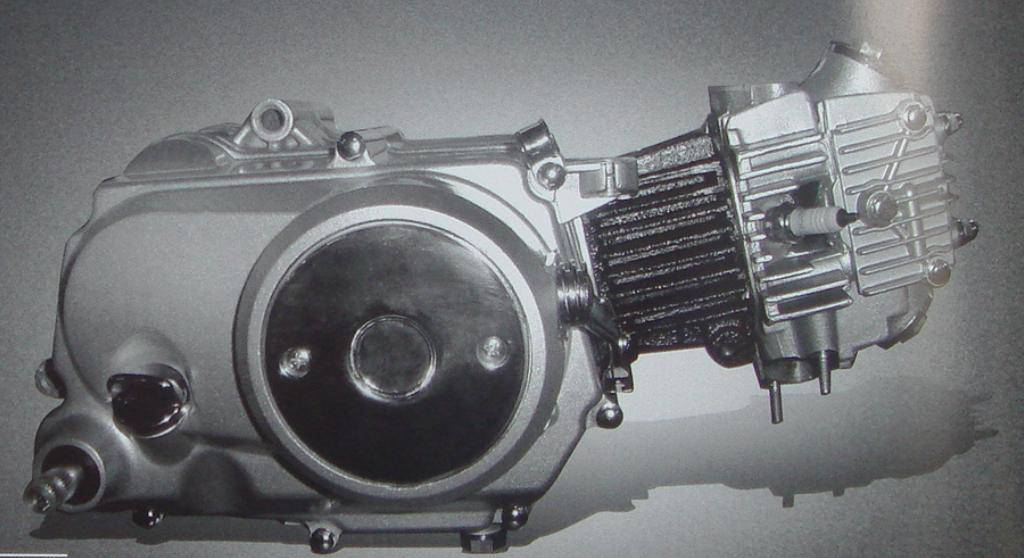 CD 70 motorcycle engine
