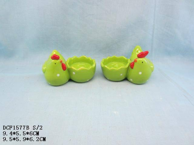 Ceramic easter chick cup
