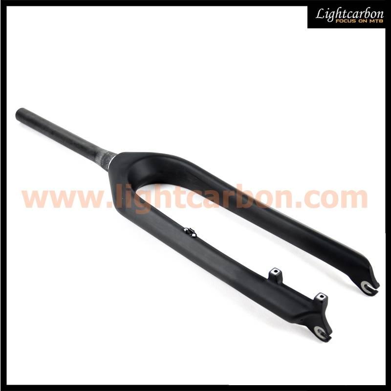 carbon bicycle parts, black 29er hardtail carbon mtb fork