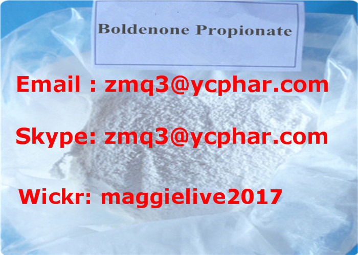 Raw Steroid Powder Boldenone Propionate CAS: 106505-90-2 for Bodybuilding