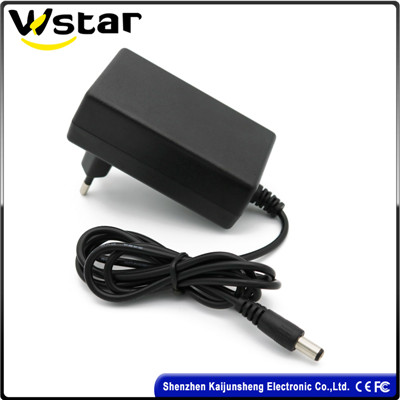 Factory Price EU US AU UK Plug 12V 2.5A Power Adapter with Customized Logo for POS Machine LED Light