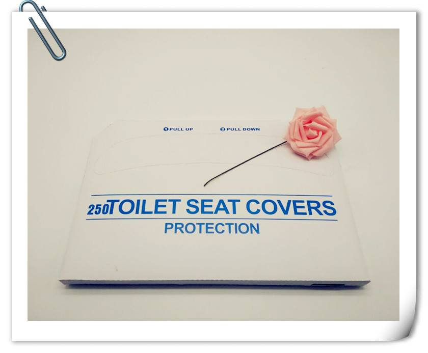disposable hygienic toilet seat cover ,tissue paper disposable toilet seat cover