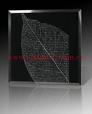 Silk-print glass, Phantom 3d glass tile
