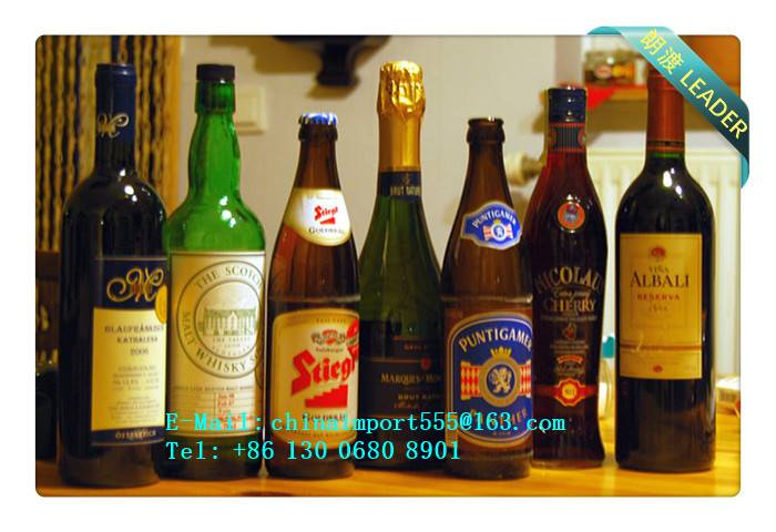 Redwine Import Agent China Customs Broker