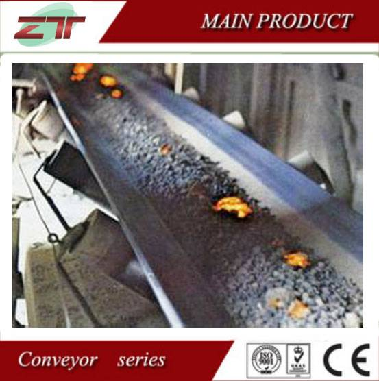 Heat Resistant Rubber Conveyor Belt for Hot Sale