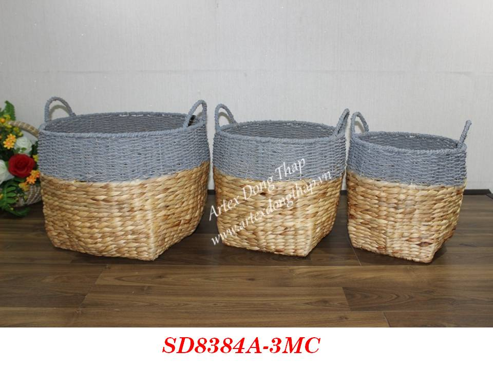Basket for home decor and furniture - SD8384A-3MC