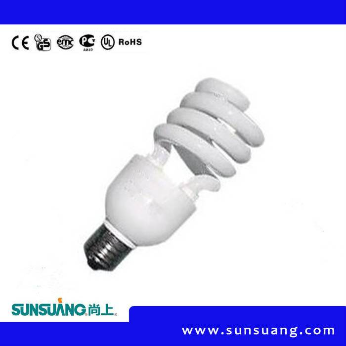 15W 20W 25W E27 Spiral Energy Saving Lamp ISO9001 CE RoHS Appoved Energy Saving Lamp