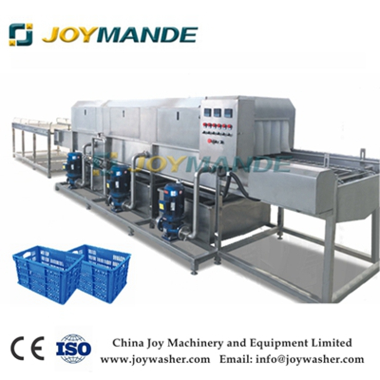 Industrial Tray Washing Cleaning Machine Tray Washer