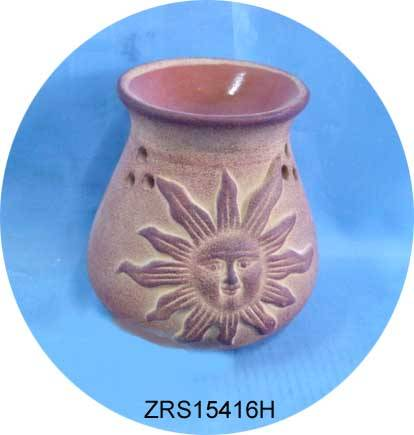 Ceramic oil burner / incense burner