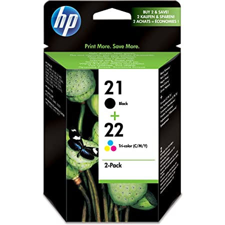 Best price HP 21/22 SD367AE Black and Tri-Colour Ink Cartridges