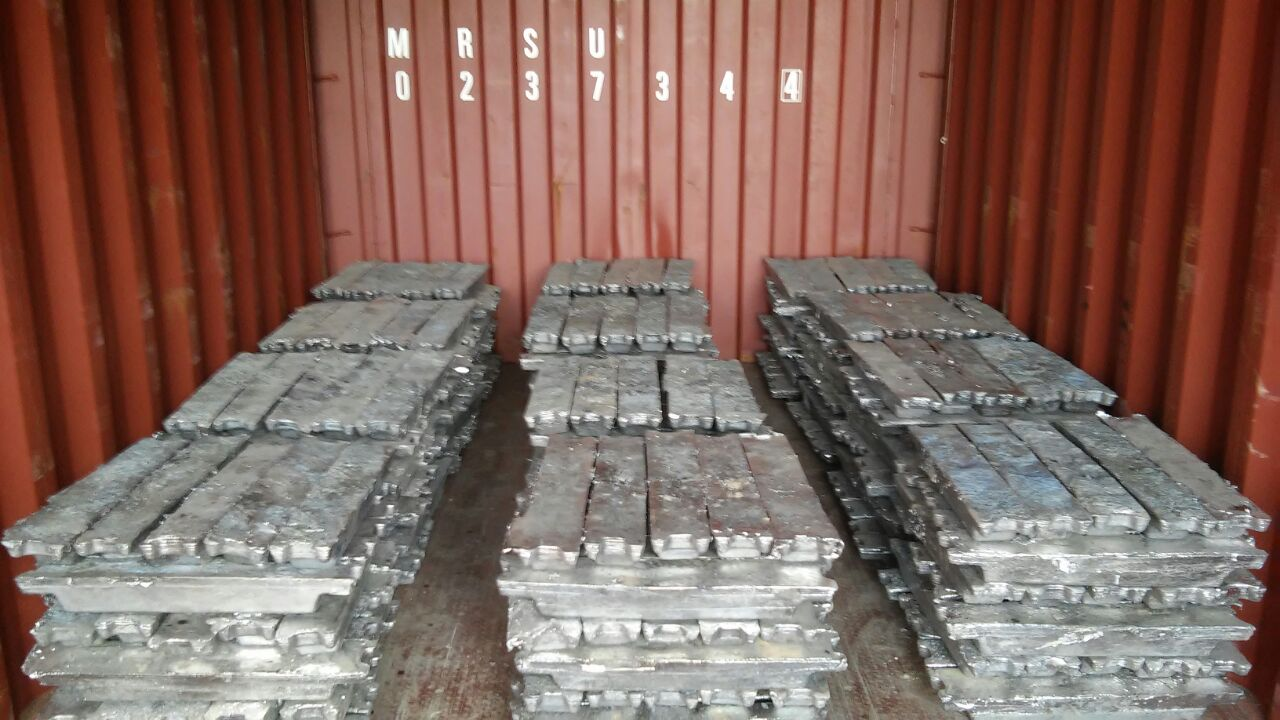 Lead Scrap and Ingot