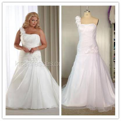 plus wedding dress floor length brand new