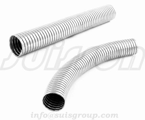Exhaust interlock pipe, interlocking exhaust pipe , interlock hose, flexible Coupler, interlocked mu