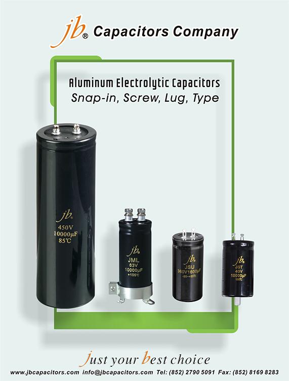 JSS - 85°C, Miniaturized Size, Lug Aluminum Electrolytic Capacitor