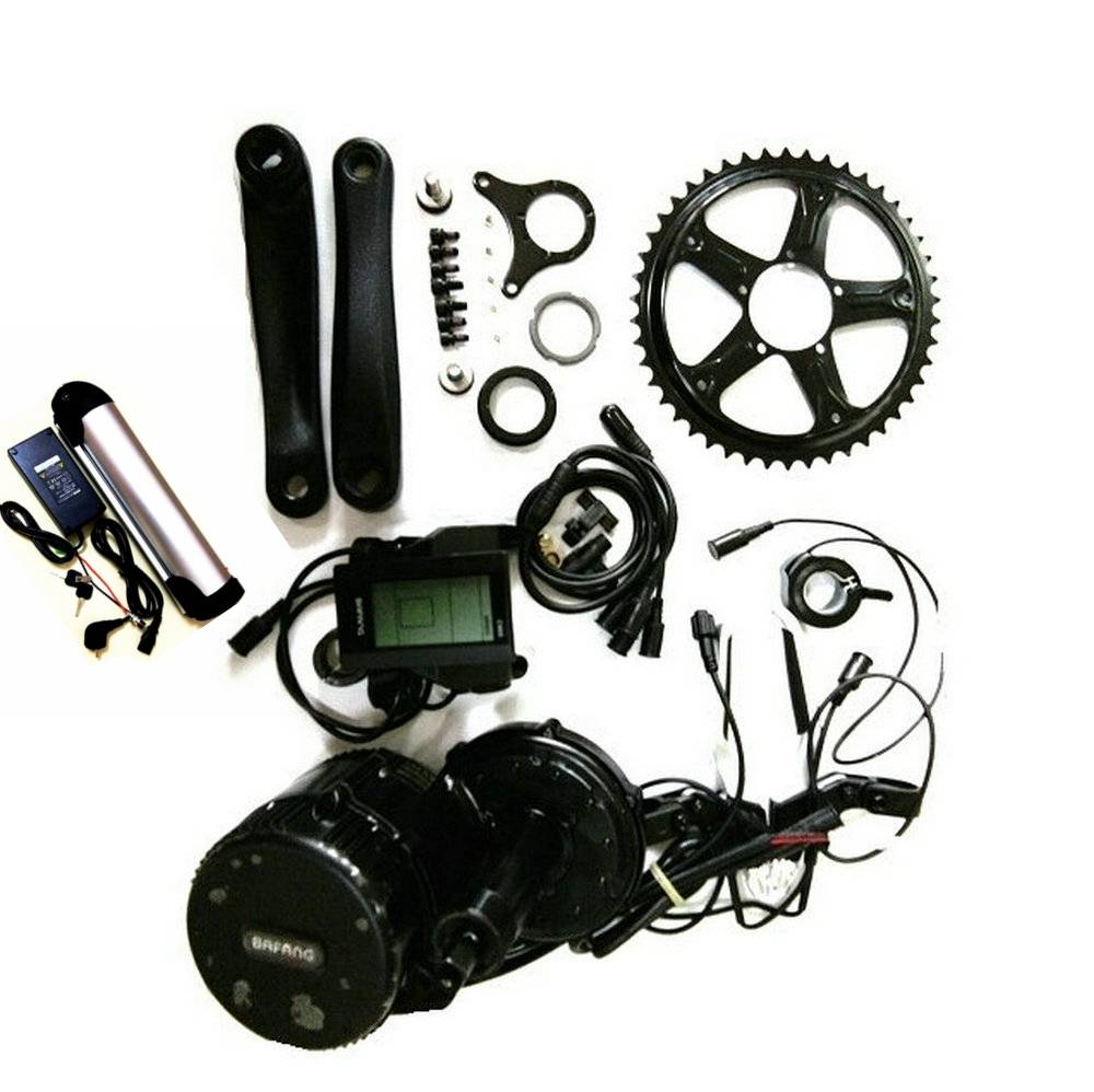 Bafang 8fun BBS02 Latest Controller Crank Motor, 48V 750W Eletric Bicycles Trike Conversion DIY Ebik