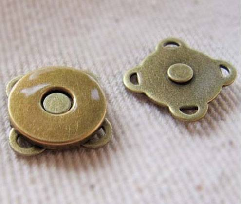 Sewing magnetic button,magnetic snap for garment