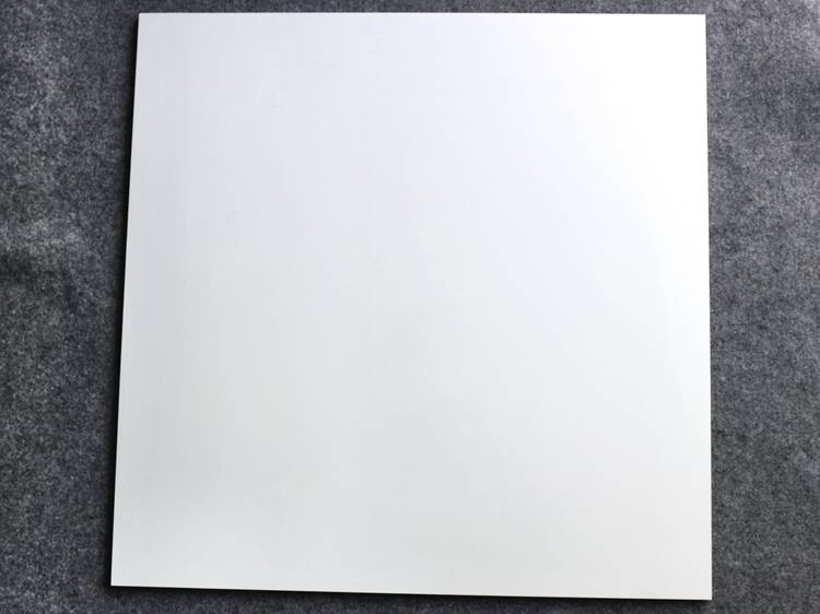 super glossy white nano polished rectified porcelain tiles
