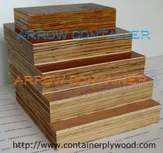 Bamboo container floorboard