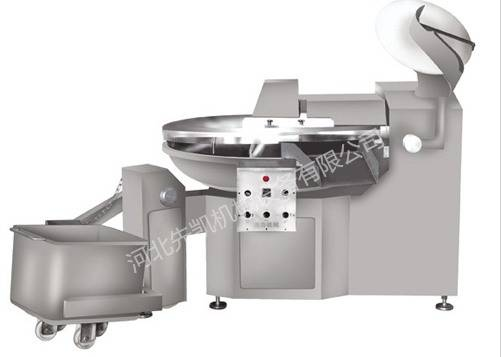 High speed frequency conversion type chopping machine