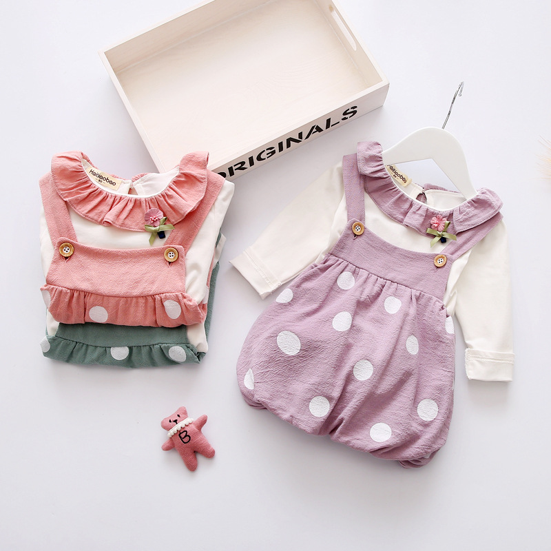 Autumn winter new kids fluffy dress pink children clothing suits