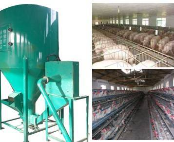 animal feedstuff crushing and mixing machine 0086-15890067264