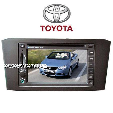 "TOYOTA Avensis Special 6.2"" Dual zoon Car DVD player TV,bluetooth,GPS navi,FM/AM"