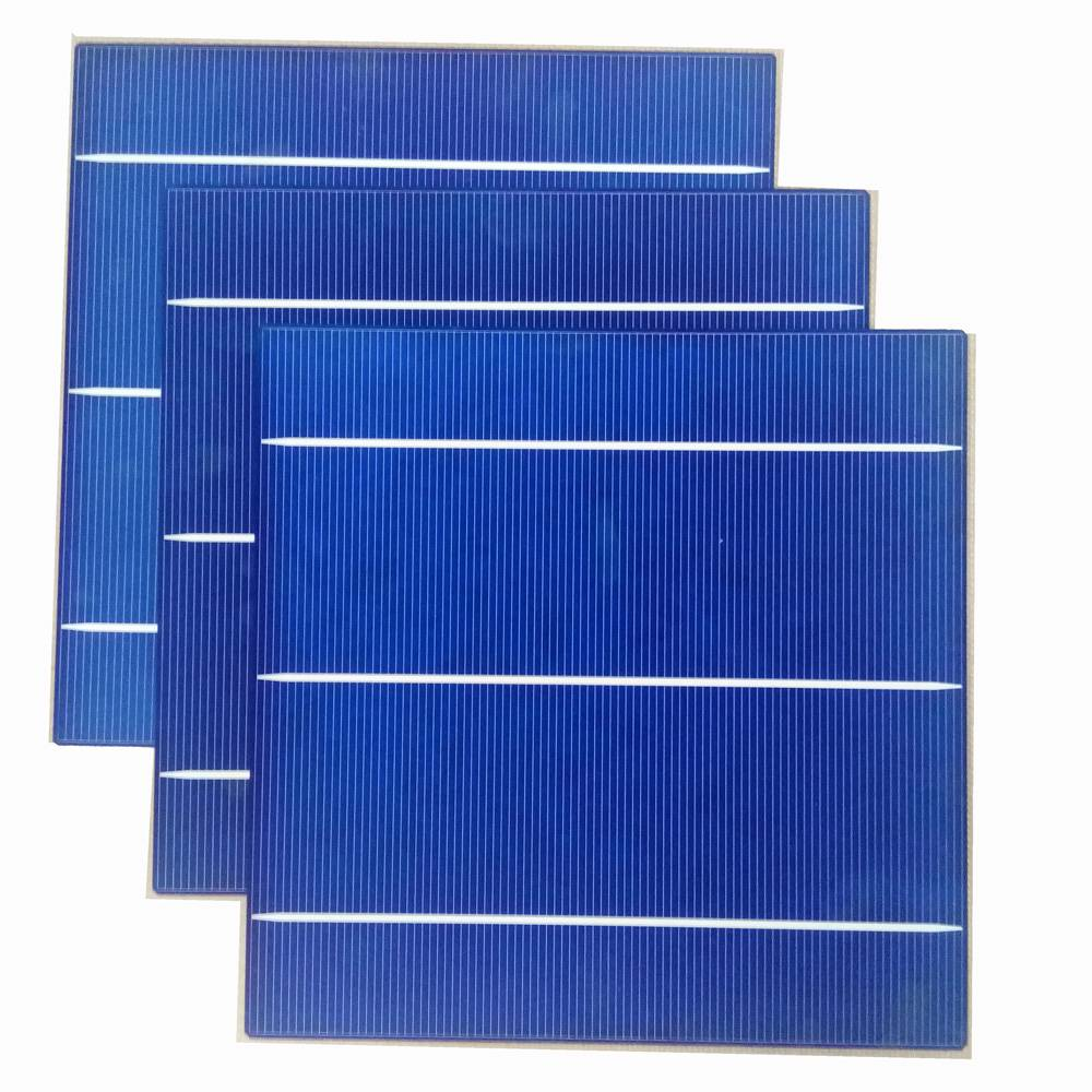 Poly crystal silicon 156*156mm 3BB High Efficiency Solar cell