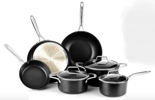 TECHEF Non-stick Aluminum Cookware