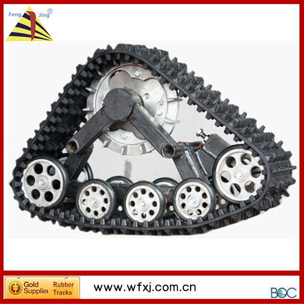 rubber track for ATV UTV conversion system kits