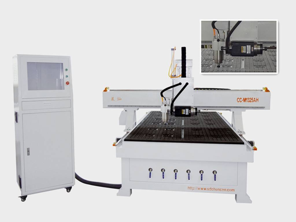 PROFESSIONAL  DOOR ENGRAVING CNC Router WITH SIDE DRILLING FUNCTION--CC-M1325AH