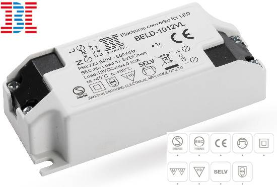 CC / CV Version Euro-Independent LED Power Supply / LED Driver