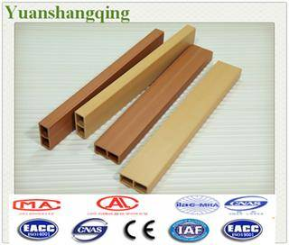 Wood Plastic Composite Square Timber Ceiling