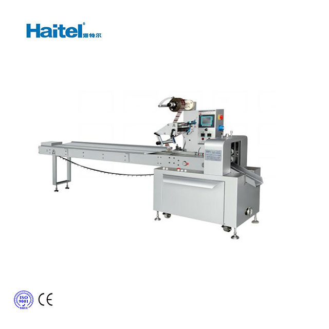 High quality automatic horizontal flow wrap packing machine