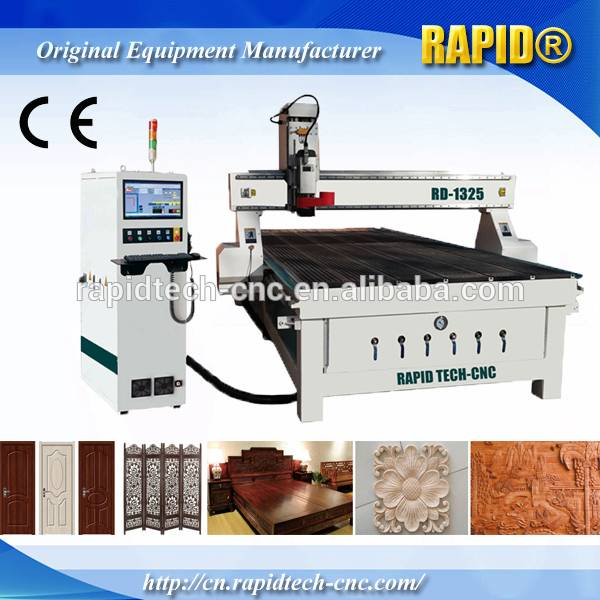 1325 dsp control water cooling spindle vacuum cnc router