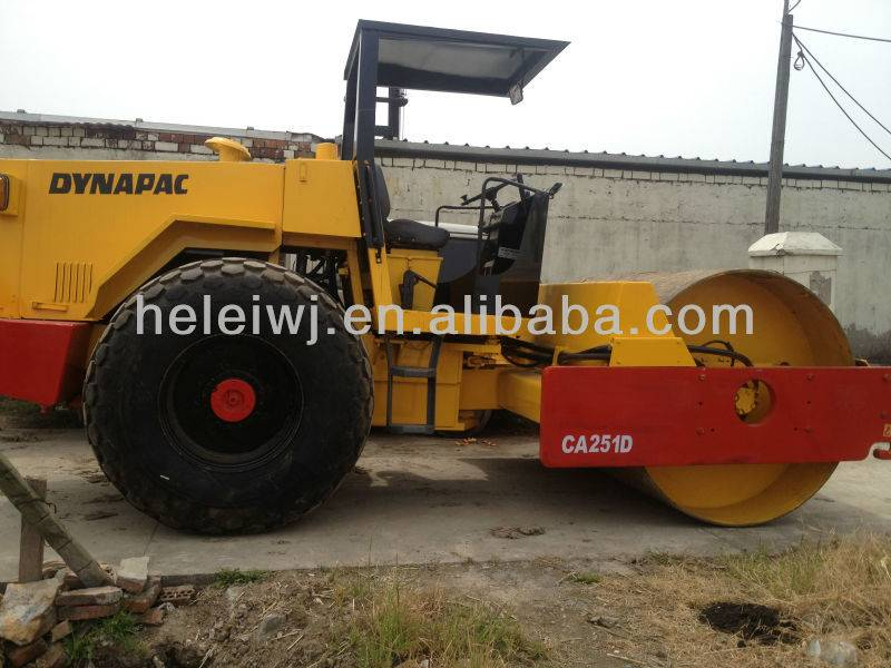 USED DYNAPAC ROAD ROLLER CA251D