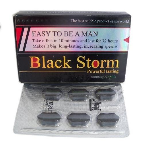 Cheap Herbal Black Storm Sex Pills are on Sale