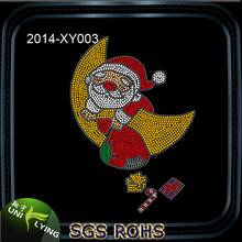merry christmas strass motif hotfix rhinestone design