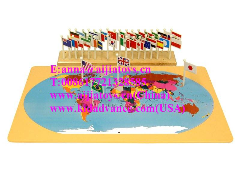 Montessori  Puzzle Maps,montessori materials toys