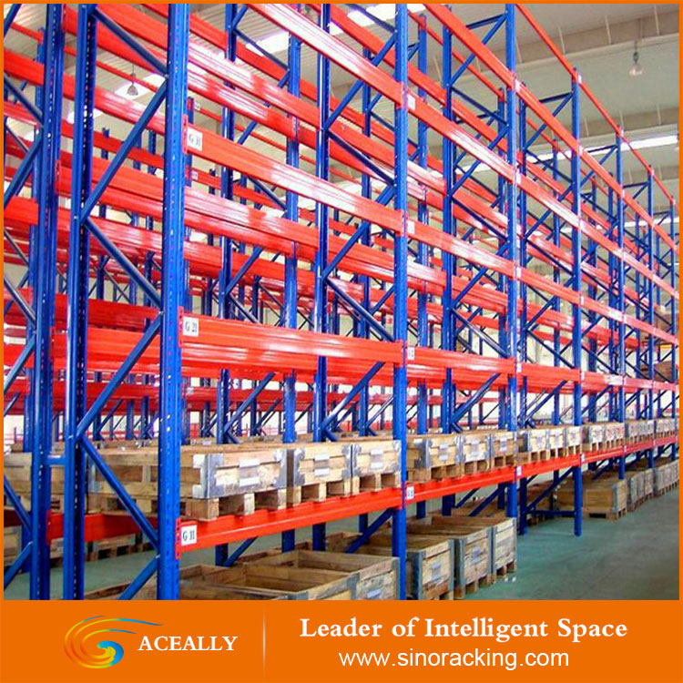 Heavy Duty Selective Pallet Racking for Warehouse