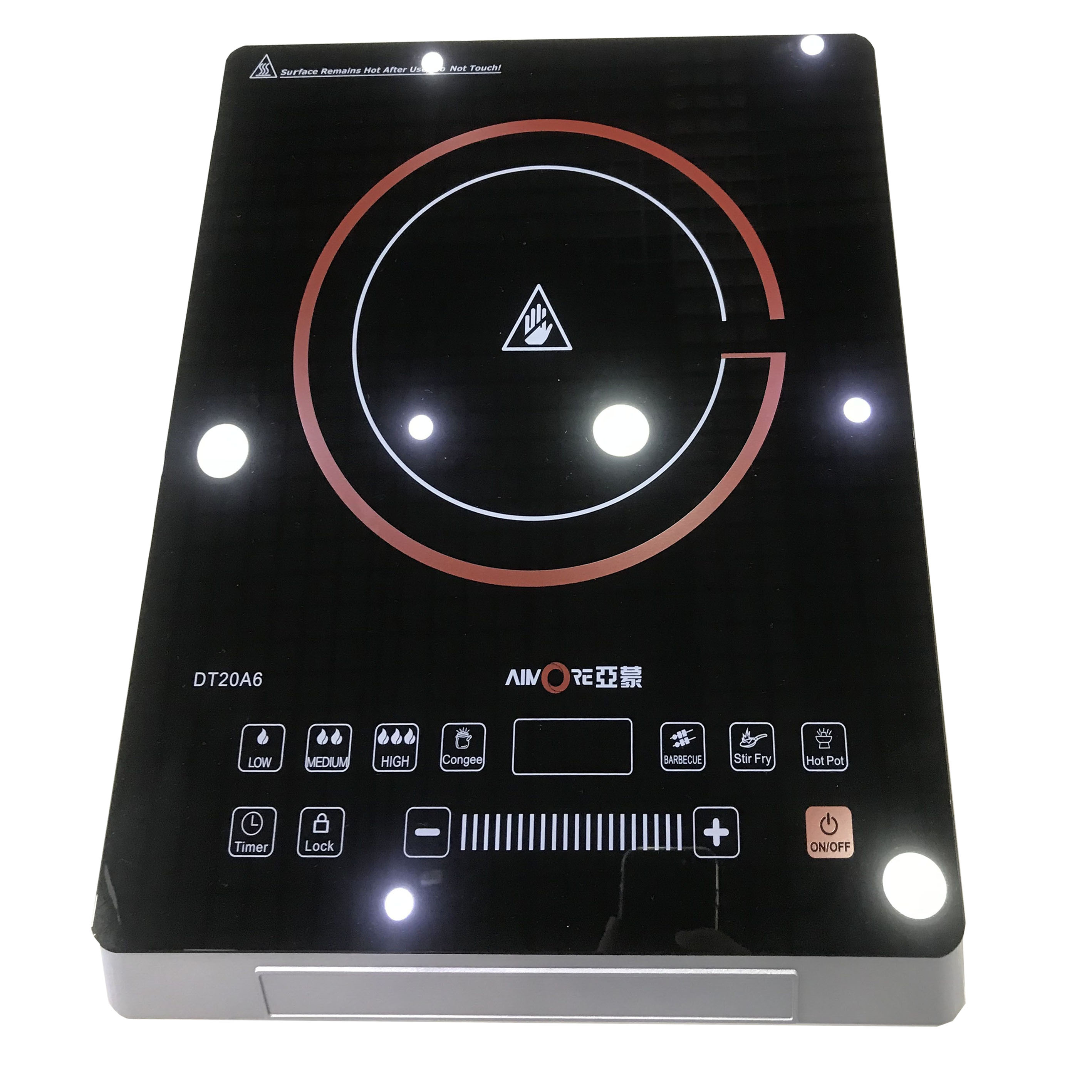 New Design Sliding High Light Infrared Cooker Suitable for Any Cooker (DT20A6)