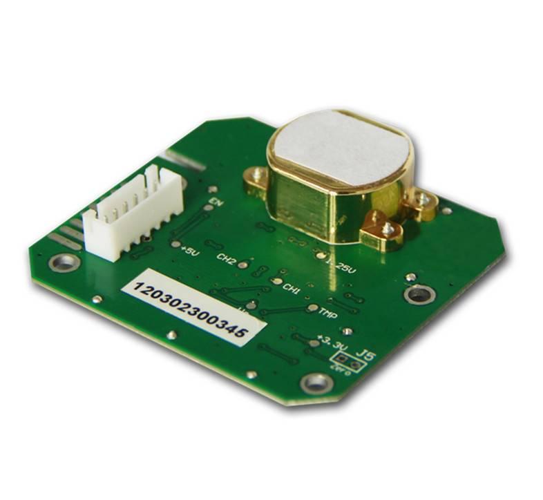 Infrared (NDIR) Carbon Dioxide (CO2) Gas Sensor Module CM1101-2 Series (dual beam)