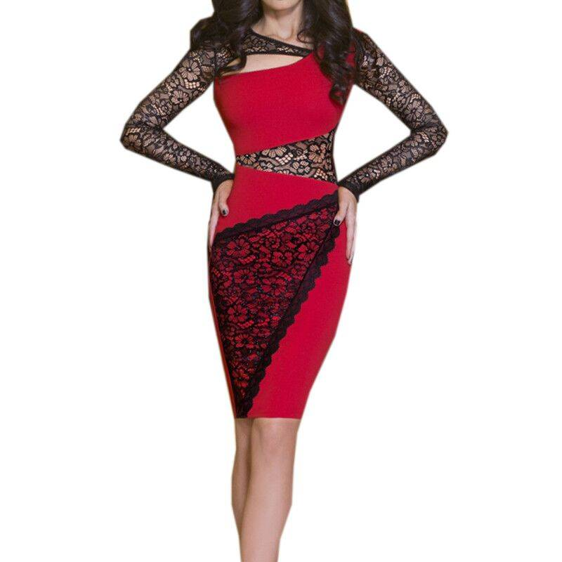 Women Fashion Bandage Dress