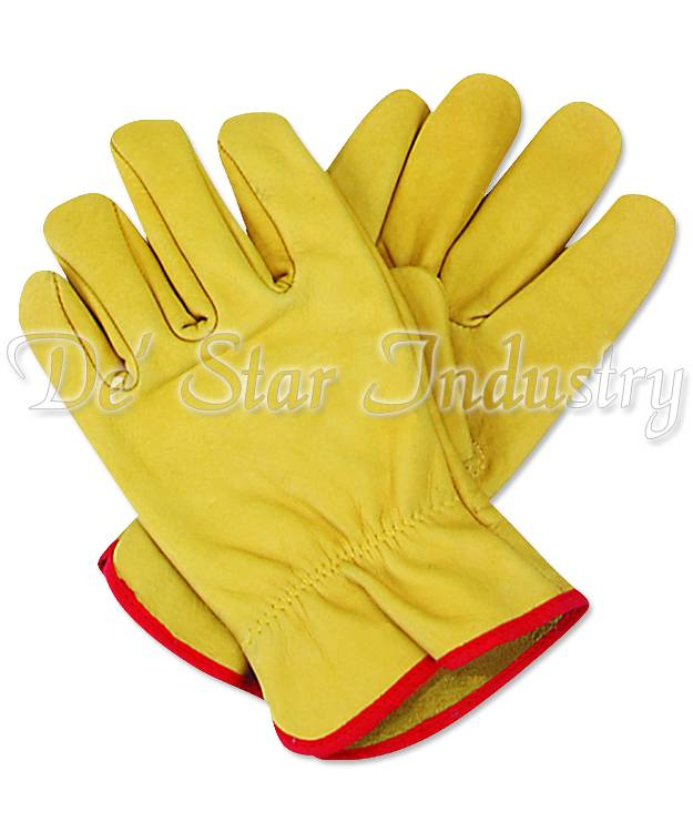 Leather Work Driver Gloves