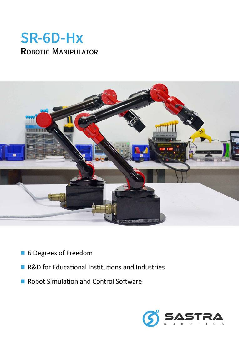 SR-6D-Hx Articulated Robotic Arm
