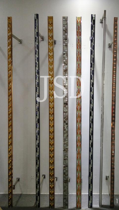 Wall unit/ wall display/ metal wall display