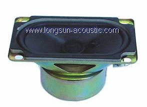 Loudspeaker for TV set use